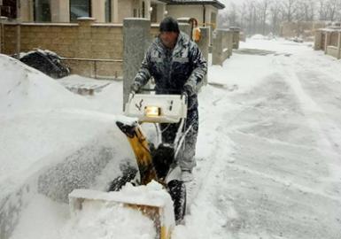 В Одессу пришла зима