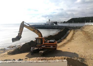 Сохранение песка в зимний период