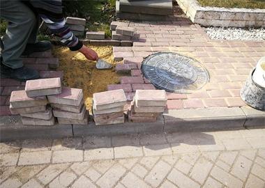 Восстановление тротуарной плитки